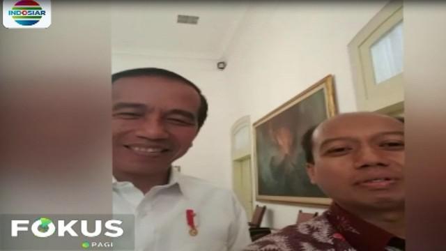 Jumat kemarin, Presiden Jokowi sengaja mengundang Sutopo ke Istana Bogor.
