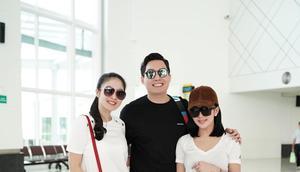 Syahrini dan Sandra Dewi Bentuk Geng Bareng Edric Tjandra  222b580cf0