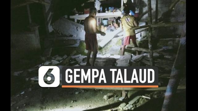Gempa besar magnitudo 7,1 mengguncang kawasan Sulawesi Utara dan sekitarnya Kamis (21/1) malam. Gempa membuat panik warga dan akibatkan kerusakan di sejumlah tempat.
