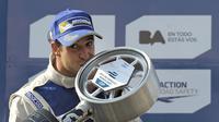 Antonio Felix da Costa memenangkan seri pembuka Formula E 2018-2019 di Arab Saudi. (AFP/Alejandro Pagni)