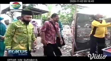 Lahan berukuran 750 meter persegi di Perumahan Citra Surya Mas, Kecamatan Sukodono, Sidoarjo yang dulunya lokasi pembuangan sampah liar, kini disulap menjadi budi daya ikan, sayur-mayur, dan tanaman toga.