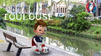 Profil Kota Euro 2016: Toulouse. (UEFA)