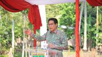 Menteri Desa, Pembangunan Daerah Tertinggal dan Transmigrasi (Mendes PDTT), Abdul Halim Iskandar. (Liputan6.com/ Novia Harlina)