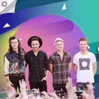 Menyimak perjalanan One Direction dari vakum hingga resmi ulang tahun yang ke-8. (Foto: AFP / STEPHEN LOVEKIN / GETTY IMAGES NORTH AMERICA, Desain: Nurman Abdul Hakim/Bintang.com)