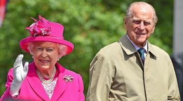 Pangeran Philip dan Ratu Elizabeth