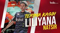 Terima kasih Liliyana Natsir. (Bola.com/Dody Iryawan)