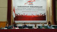 Sarasehan Kebangsaan di Pekanbaru (Liputan6.com/M Syukur)