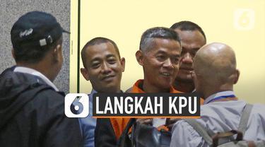 Komisioner KPU Wahyu Setiawan terjerat OTT KPK pada 10 Januari 2020 KPU langsung menggelar rapat pleno.