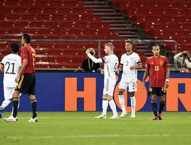 Jerman Bermain Imbang Atas Spanyol di UEFA Nations League