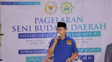 Di Pagelaran Seni Budaya Lampung, Zulkifli Hasan Ajak Seluruh Elemen Bangsa Bersinergi  Menuju Indonesia Lebih Baik