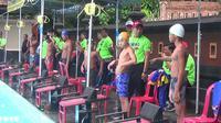Wajah-wajah peserta Bupati Badung Cup. (foto : Liputan6.com / Dewi Divianta)