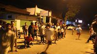 Warga Gorontalo menunggu sahur sambil lomba lari (Arfandi Ibrahim/Liputan6.com)
