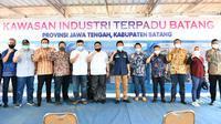 Kepala BPH Migas dan Anggota Komisi VII DPR RI kunjungi Batang (dok: BPH Migas)