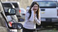 Pembantaian di Sekolah Sandy Hook 14 Desember 2012 (AP Photo/Jessica Hill)