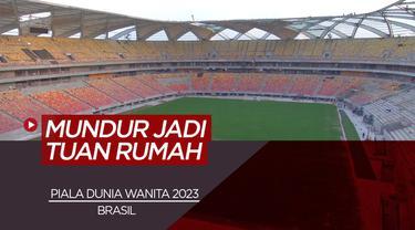 Berita Video Brasil Mundur Dalam Persaingan Menjadi Tuan Rumah Piala Dunia Wanita Tahun 2023 Akibat COVID-19