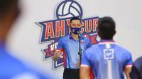 Agus Harimurti Yudhoyono resmi membuka turnamen voli AHY Cup 2020 (Foto: Istimewa)