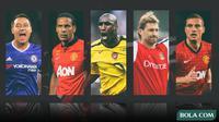 Kolase - 5 Pemain Belakang di Premier League (Bola.com/Adreanus Titus)