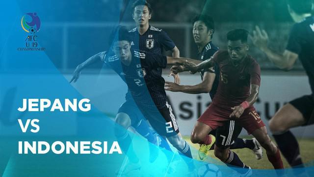 Berita video statistik laga Jepang vs Indonesia di Piala AFC U-19, Minggu (28/10/2018) di Stadion Utama Gelora Bung Karno.
