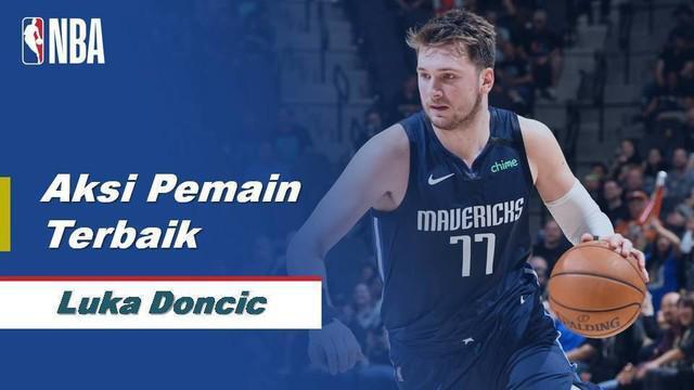 Berita Video Luka Doncic Cetak 38 Poin Saat Dallas Mavericks Dikalahkan San Antonio Spurs 119-109