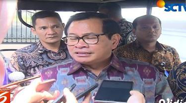 Menurut Pramono, pertemuan empat mata Jokowi dan AHY untuk menyamakan persepsi tentang berdemokrasi guna membahas penghitungan cepat pemilu.