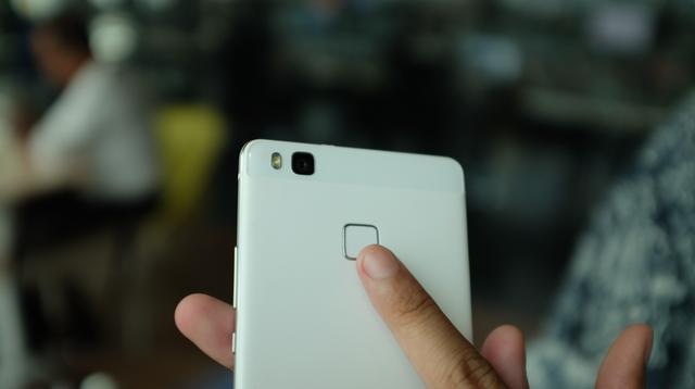 Fingerprint pada Huawei P9 Lite (Liputan6.com/Iskandar)