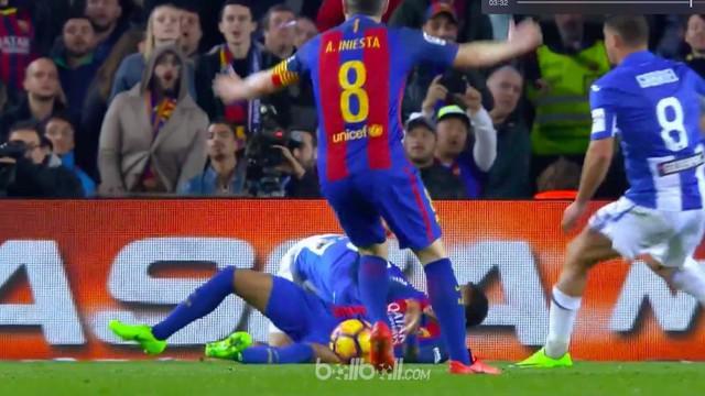 Berita video Lionel Messi mencetak 2 gol untuk kemenangan Barcelona atas Leganes pada pekan ke-23 Liga Spanyol, Minggu (19/2/2017).