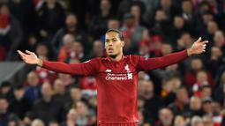 2. Virgil van Dijk (Southampton ke Liverpool) - Liverpool rela mengeluarkan 84,5 juta euro untuk memboyong Virgil van Dijk dari Southampton pada bursa transfer musim dingin 2018. (AFP/LLuis Gene)