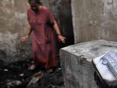 Nestapa Korban Kebakaran Tambora