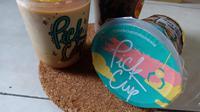 Ragam minuman cokelat dari Pick Cup. (Liputan6.com/Dinny Mutiah)