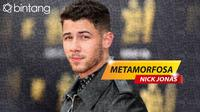 Metamorfosa Nick Jonas (Foto: AFP/Digital Imaging: M. Iqbal Nurfajri)