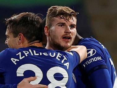 FOTO: Menang 2-0 atas Newcastle United, Chelsea Usir Liverpool dari Peringkat ke-4