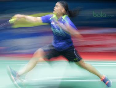 Gregoria Mariska Tunjung, Ratchanok Intanon, Indonesia Open 2018