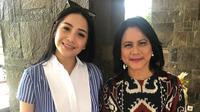 Nagita Slavina dan Ibu Negara, Iriana (dok. Instagram @raffinagita1717/https://www.instagram.com/p/BtgEGtcHUqq/Putu Elmira)
