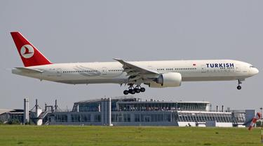 Ponsel Tak 'Bertuan' Ditemukan di Pesawat, Turkish Airlines mend