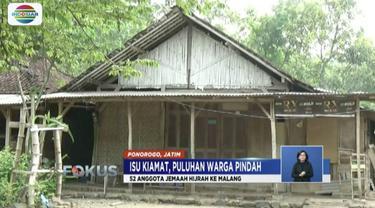 Diduga terhasut isu kiamat, seorang warga Ponorogo, Jawa Tengah, jual tanahnya dengan harga murah.