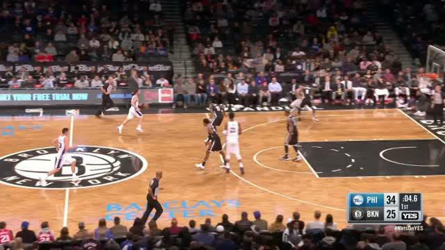 Berita video game recap NBA 2017-2018 antara Philadelphia 76ers melawan Brooklyn Nets dengan skor 120-97.