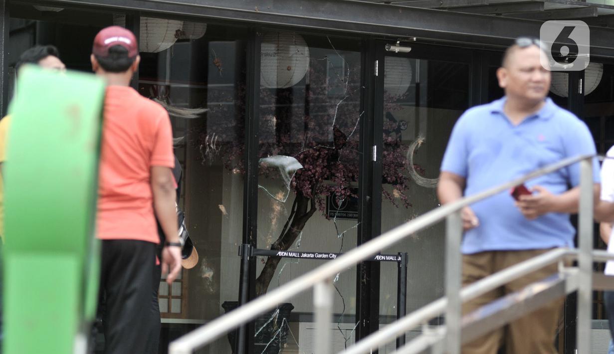 Foto Kondisi Aeon Mall Cakung Usai Dirusak Warga News Liputan6 Com