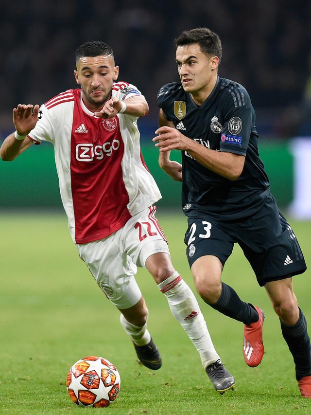 Real Madrid Menang Tipis dari Ajax