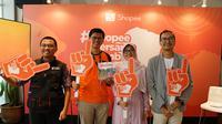 Shopee berkerjasama dengan beberapa lembaga kemanusiaan untuk membuat kampanye guna membantu pemulihan Lombok. Sumber foto: PR.