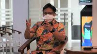 Menteri Kesehatan RI Budi Gunadi Sadikin melakukan sidak ke RS Cipto Mangunkusumo Jakarta sekaligus jumpa pers terkait antisipasi lonjakan pasien COVID-19 pada 25 Desember 2020. (Dok Kementerian Kesehatan RI)