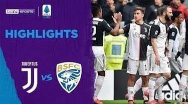 Berita Video Highlights Serie A, Juventus Kalahkan Brescia 2-0