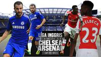 Chelsea vs Arsenal (Liputan6.com/Sangaji)