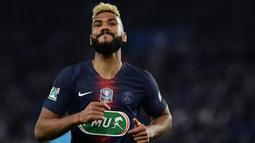 Eric Maxim Choupo-Moting merupakan pemain sepak bola berkebangsaan Kamerun yang lahir di Jerman. Pemain berusia 31 tahun ini bergabung dengan Paris Saint-Germain (PSG) pada tahun 2018. (AFP/Philippe Lopez)