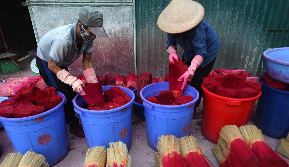 FOTO Kesibukan Desa Dupa Songsong Imlek Di Vietnam Global