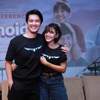 Morgan Oey saat jumpa pers dan screening film Eggnoid di XXI Plaza Senayan, Jakarta Pusat, Kamis (28/11/2019). (Daniel Kampua/Fimela.com)