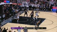 Berita video game recap NBA 2017-2018 antara San Antonio Spurs melawan Sacramento Kings dengan skor 98-85.