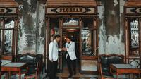Kafe Florian di Venesia, Italia, terancam bangkrut akibat pandemi (dok.unsplash/ Clay Banks)