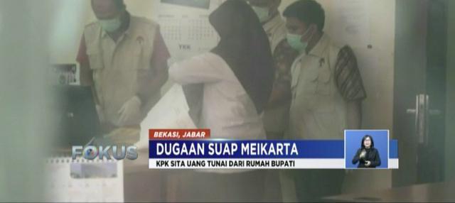 KPK geledah kantor Dinas Penanaman Modal dan Pelayanan Terpadu, kantor dan rumah pribadi Bekasi, dan kantor Lippo Group terkait kasus suap izin pembangunan Meikarta.