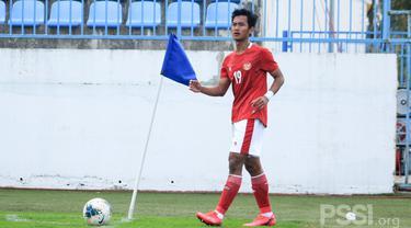 Gelandang Timnas Indonesia U-19, Mohammad Kanu.