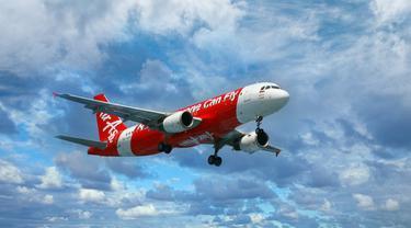 Semarak! Penerbangan Perdana AirAsia Indonesia Makau-Jakarta